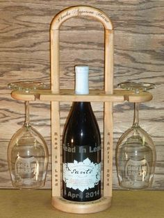 Wine Caddy For Public Library Auction