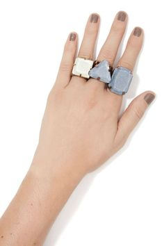 8 Other Reasons Rewind Ring Set   Shop Accessories at Nasty Gal