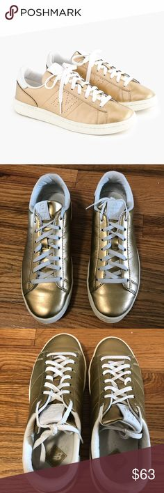 huge selection of 48aa1 efcd5 J.Crew Gold New Balance Only worn Once J.Crew Gold New balance.