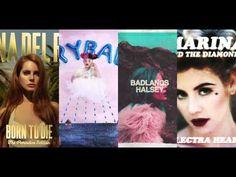 Young Burning Dolls - Lana del Rey / Melanie Martinez / Halsey / Marina ...