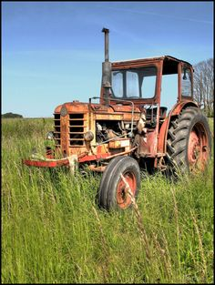 Tractor - loved riding on with grandpa