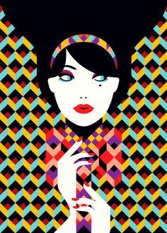 Color, elegancia y sencillez: Obras de Malika Favre « Cultura Colectiva