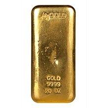 20oz MyGold Gold Bullion Bar   goldankauf-haeger.de