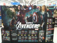 Walmart display.