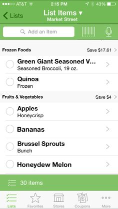 Grocery Games | Shopping smart - grocery list!