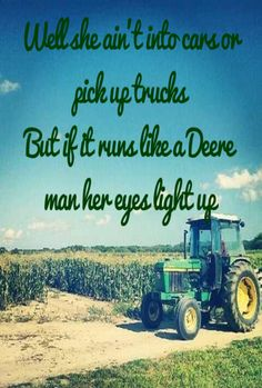 Haha yea well I kinda am trucks too but boy howdy everytime theres chance to run a deere I reckon that's where Il be!! If you can't run with the big dogs, stay on the porch!!
