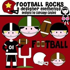 Hey, I found this really awesome Etsy listing at https://www.etsy.com/listing/54547810/football-rocks-digital-clip-art