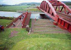 Machine in the Garden: Charles Jencks's Garden of Scottish Worthies, Portrack, Scotland