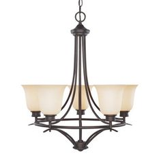 View the Designers Fountain 96985 Five light Up Lighting Chandelier from the Montego Collection at Build.com.