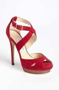 Love the red shoes!!