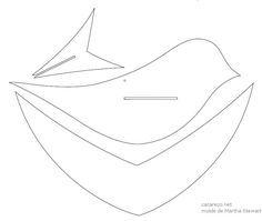 Mundo Bicho Grilo: Móbile com pássaros de papel