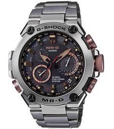 Amazon.com  Casio G-Shock MR-G GPS Atomic Solar Hybrid MRG-G1000  MRGG1000DC-1A  Casio  Watches f292e1a91f