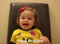 "Her mom says every night ""there's a different sport on in our house, whether it's the Miami Heat or Colombian Futbol."" 