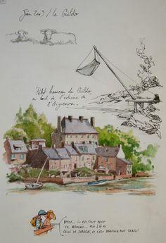 Une Bretagne par les contours/ Estuaire de l'arguenon - Le Guildo, Côtes d'Armor (22),