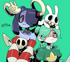 Skullgirls, Robot Girl, Fairy Tail Manga, Sketch Inspiration, Cool Animations, Best Waifu, Drawing Reference Poses, Fighting Games, Video Game Art