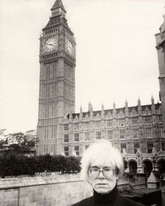 Andy Warhol in London, 1986