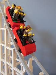 Image result for rollercoaster lego