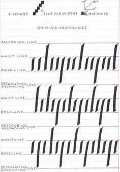 Calligraphy For Beginners...excellent resource!