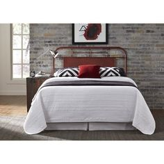 Shop for Carbon Loft Penrose Vintage Distressed Twin-size Metal Headboard. Get free delivery at Overstock.com - Your Online Furniture Shop! Get 5% in rewards with Club O! - 18916961