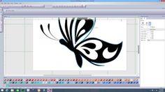 Simple Cut 7.1 (Artistic Edge Cutter), Vinyl Butterfly Class - YouTube