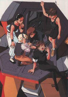 Gundam Wing ~~ How many G-Boys does it take...?