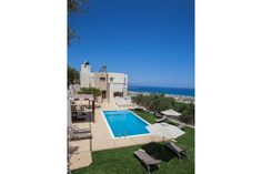 Holiday Villa in Chania, Crete - Villa Veghera - Great Views & Private Pool Luxury Holidays, Private Pool, Crete, Great View, Villas, Living Area, Places, Lugares, Mansions
