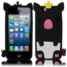 Pig!Why are u so cute when I insert my iPhone 5 on u? Does anyone want to get it as me to make new look for new phone?