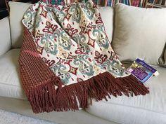 Ikat Throw Blanket Moroccan Blanket Ethnic Bedding African