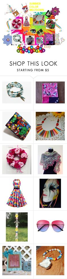 """""""SUMMER COLOR MELTDOWN"""" by christine-bygrave ❤ liked on Polyvore featuring Marvel Comics"""