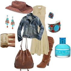 yee-haw! So cute, cowgirl style. I absolutely love this dress!