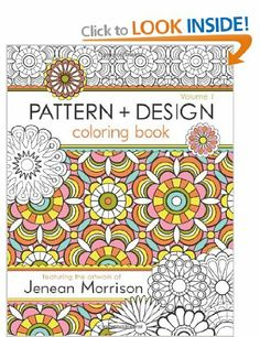 Pattern And Design Coloring Book Volume By Jenean Morrison