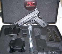 Springfield XD-m .45 my christmas present from Sue!!! She is so special!