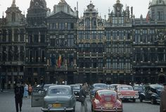 Brussels - the Grand Place (1957)