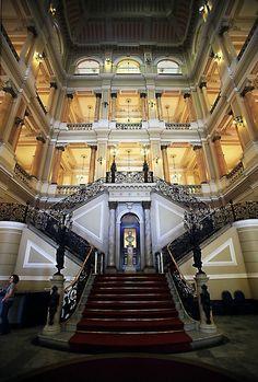 Biblioteca Nacional - Rio de Janeiro, RJ.  Photo byCarlos Vieira.