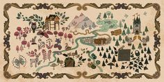 Enchanted Forest: The Map by ksstr