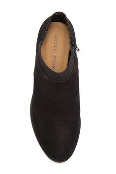 5aae48f1e Image of Lucky Brand Brintly Leather Ankle Bootie Lucky Brand, Ankle Booties,  Nordstrom Rack