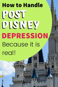 Post Disney depression is real! But here are some tips to help you make it through those post Disney blues until your next Disney vacation. Disney World Parks, Disney World Vacation, Disney Cruise Line, Disney Vacations, Disney Trips, Disney Vacation Planning, Disney World Planning, Disney Destinations, Disney World Resorts