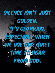 Sometimes you just have to quiet the noise…