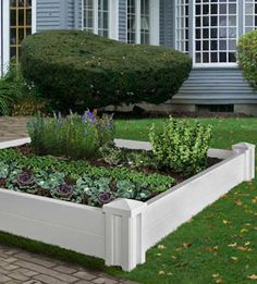 Give a flower or vegetable garden definition with our Versailles Raised Garden Bed. Raised Garden Planters, Outdoor Planters, Raised Garden Beds, Outdoor Gardens, Raised Beds, Raised Gardens, Urn Planters, Garden Definition, Versailles Garden