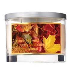 Fall Harvest Avon Candle
