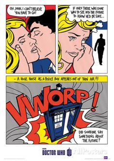 Doctor Who (Pop Art) Television Poster Masterprint at AllPosters.com