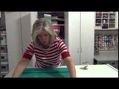 SIB Fabric Folding Tip - YouTube