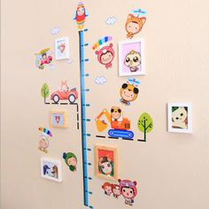 A Set of NEW HANGING MODERN CREATIVE MULTI PHOTO Kids FAMILY PICTURE FRAME 16050610