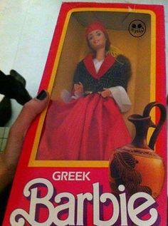 Greek Barbie