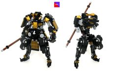 Name: Daimyo Type: Speed/Rumble Pilot: Gai-Jun Special Ability: Ejectable armor  One of the more unique MRL racers, Daimyo is a repurposed Japanese combat mecha. It's owner and pilot, Gai-Jun, is a huge samurai fanatic and bought the unit as soon as he saw it on Cragslist. He doesn't like to talk about how much he spent on it. He outfitted the mech with high-speed wheels, which are directly driven by the powerful motors in the mech's thighs. Two thrusters on the back help with acceleration…