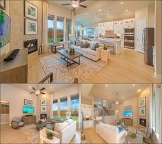 On a scale from 1 to 10, how much does this FAMILY ROOM make you SWOON?! Den Decor, Home Decor, Living Rooms, Living Spaces, House Elevation, Brick And Stone, New Homes For Sale, Model Homes, Salons