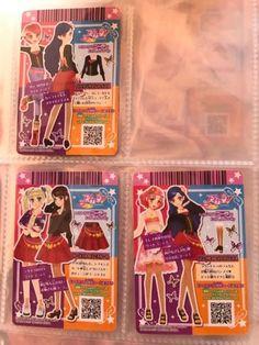 """Trading card of Japanese Idol Animation """"AIKATSU"""" (Hong Kong version)"""