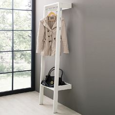 Trendy hat coat stands tree for home office, & modern, contemporary hallway. Hat And Coat Stand, Coat Stands, Contemporary Hallway, Loft, Under Stairs, Bedroom Inspo, First Home, Creative Home, Wardrobe Rack