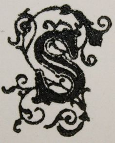 Fancy S_print.jpg (362×451)  Something like this - but with a dragon on one side and a wolf on the other. or two wolves