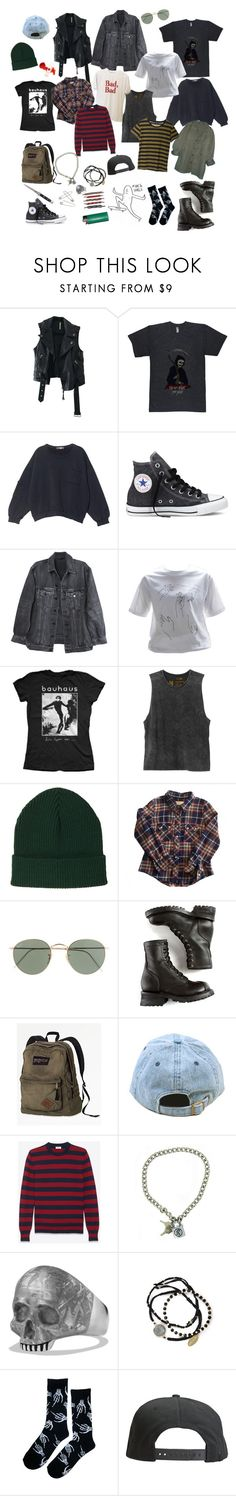 """""""My new asthetic 🚻"""" by suprisebitch666 ❤ liked on Polyvore featuring Free People, MSGM, Converse, Y/Project, Bela, RVCA, Topshop, Étoile Isabel Marant, J.Crew and Opening Ceremony"""